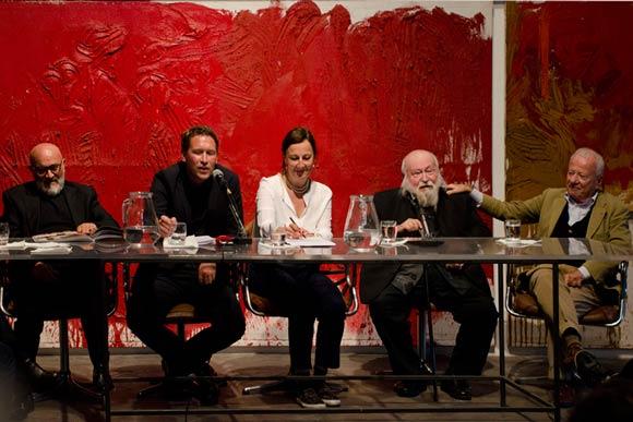 Hermann Nitsch conferenza
