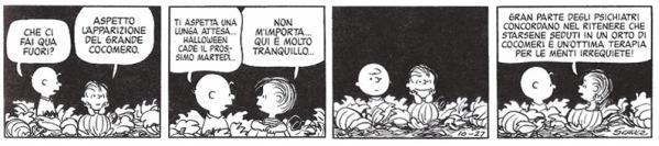 Peanuts e il Grande Cocomero strisce