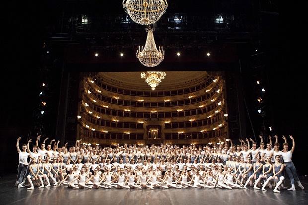 Gala per il bicentenario della scuola di ballo dell'Accademia Teatro alla scala