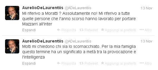 @ADeLaurentiis il calcio ai tempi di twitter