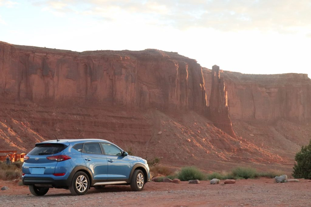 California on the road - Monument Valley
