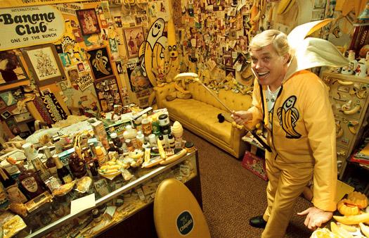 la psicologia del collezionista di banane