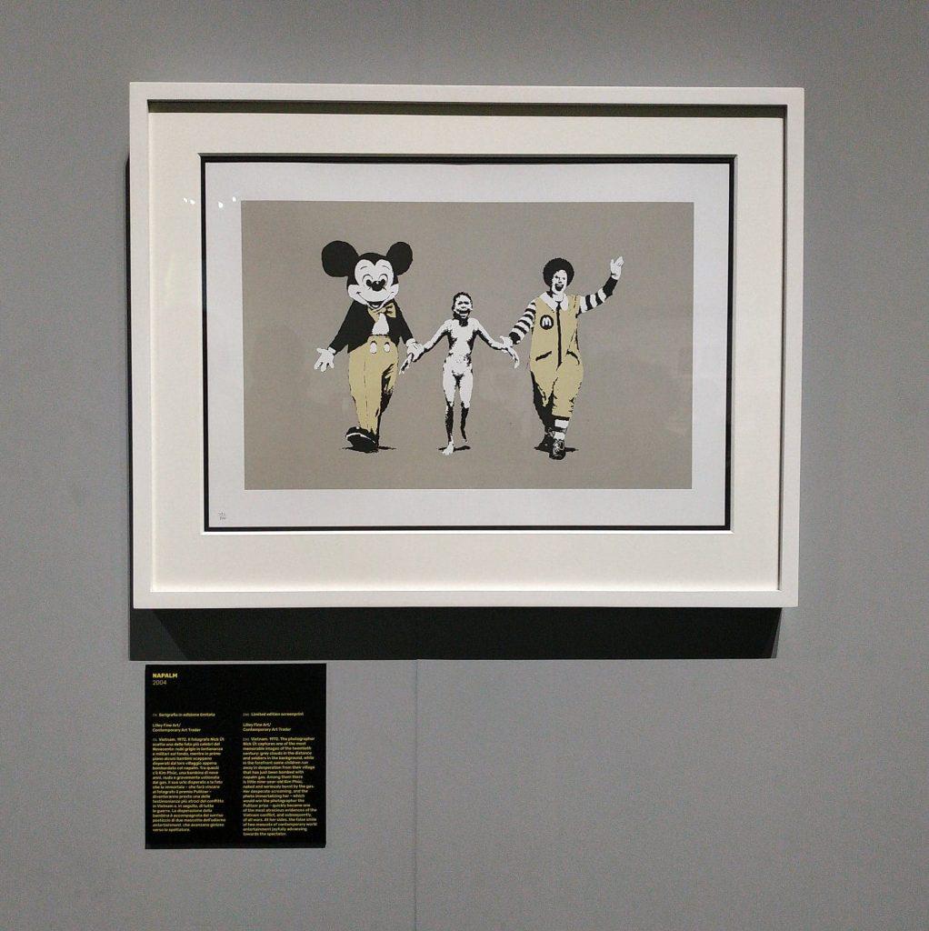 Banksy a Milano Mudec