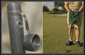 invenzioni più inutili water mazza golf