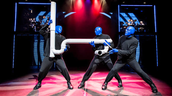 Blue man group teatro