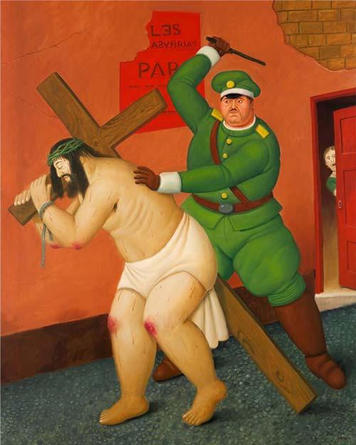 Botero_Via-Crucis-la-via-dei-lamenti