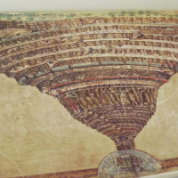 mappa inferno botticelli
