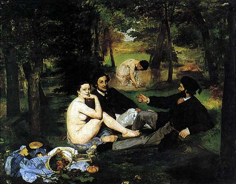 Colazione sull'erba_Edouard Manet