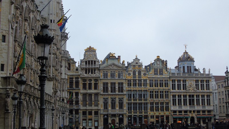 weekend a bruxelles grand place