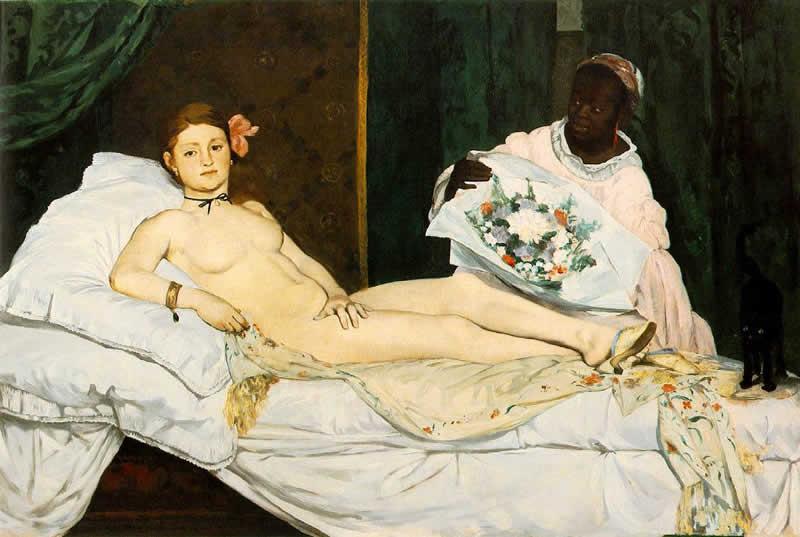 Edouard-Manet-Olympia-1863-parigi-museo-dorsay