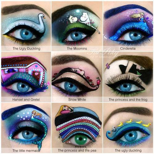 eyelid art fables