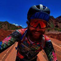 Jovanotti in bicicletta in Sud America