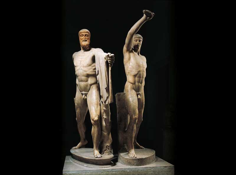 Gli uccisori della tirannide_Armodio e Aristogitone