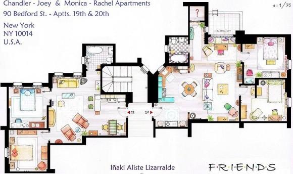 Dimmi che appartamento vuoi e ti dir chi sei le case dei for Planimetrie delle case americane