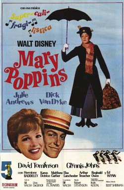 Mary-Poppins-poster Walt Disney
