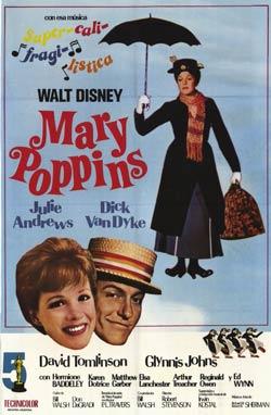 Mary-Poppins-poster Walt Disney