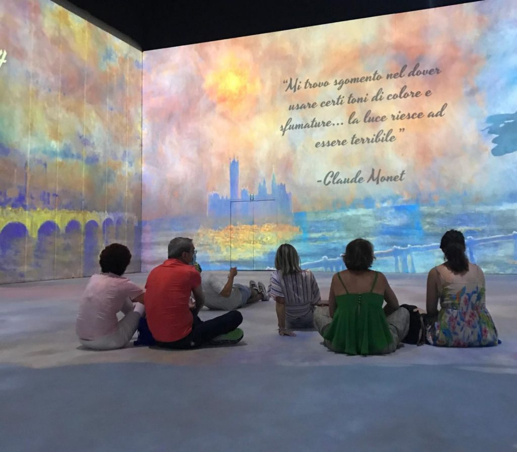 Bansky e Monet a Milano Teatro Arcimboldi