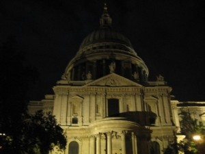 Saint Paul Cathedral londra