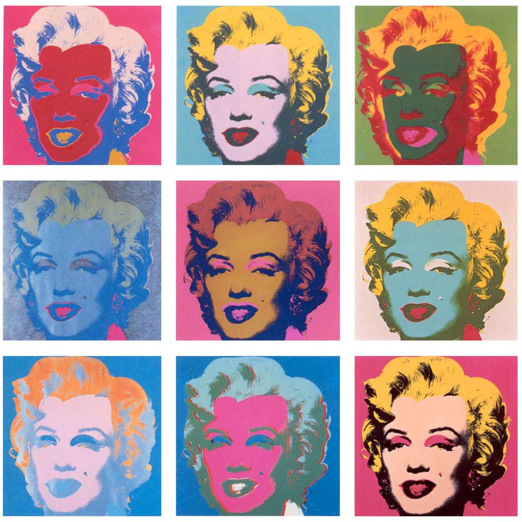 Serie Marilyn_Warhol