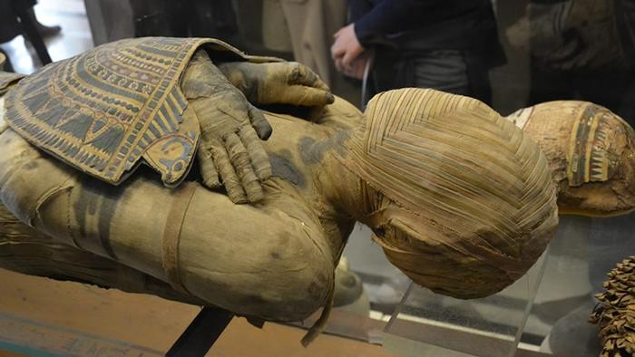 sezione egizia del museo archeologico di napoli