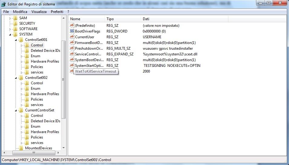Velocizziamo windows_registro 2