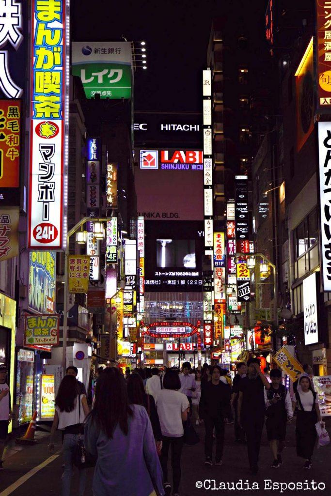 Shinjuku visitare Tokyo