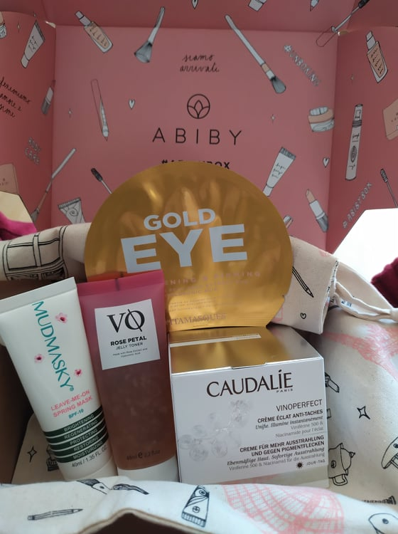 beauty box abiby prodotti less is more