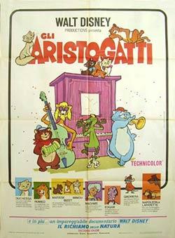 aristogatti-poster Walt Disney