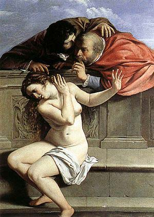 Susanna e i vecchioni Artemisia