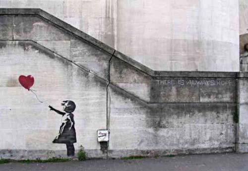 banksy hope