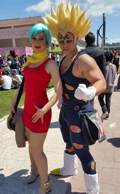 bulma vegeta cosplay