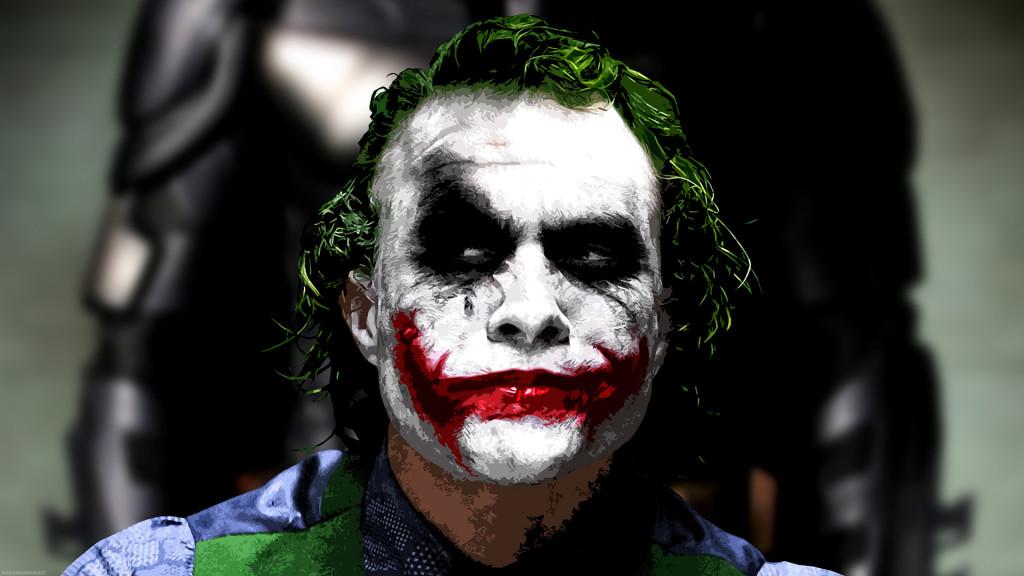 Makeup dei personaggi del cinema jocker