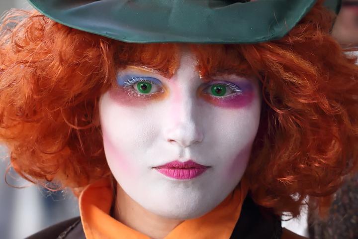 Makeup dei personaggi del cinema cappellaio matto