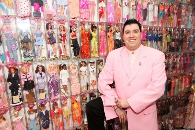 la psicologia del collezionista di barbie