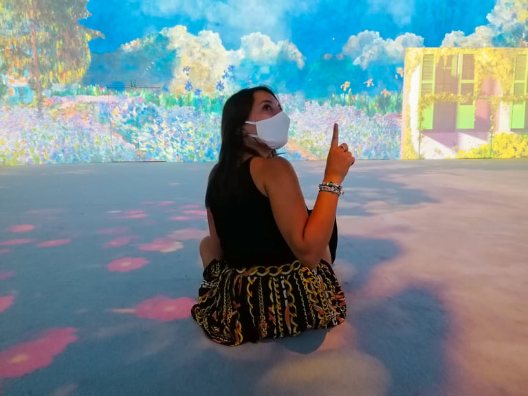 Bansky e Monet a Milano