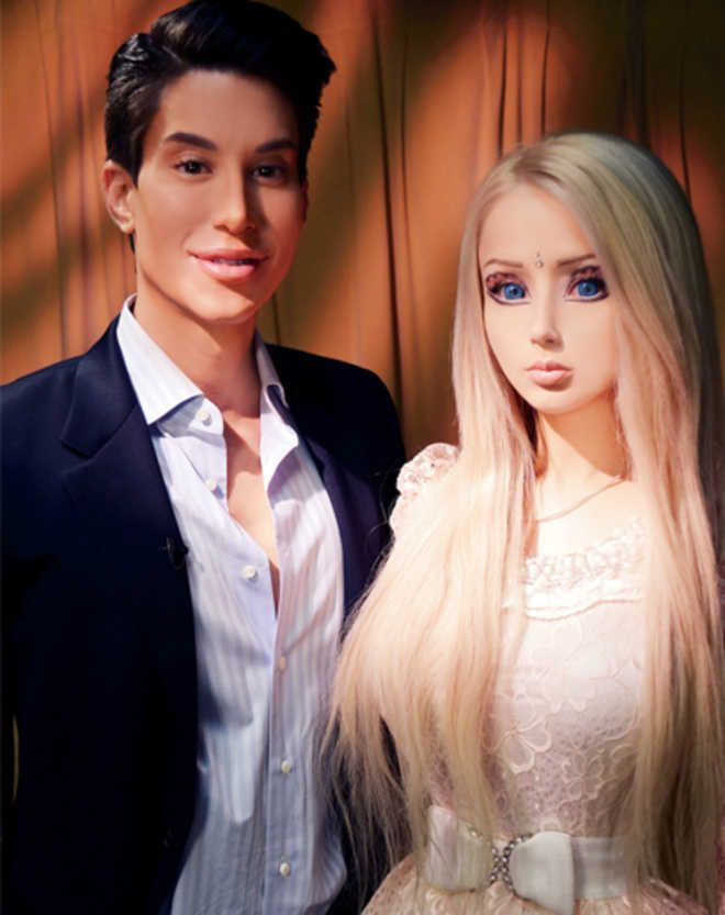 Barbie girl and ken boy