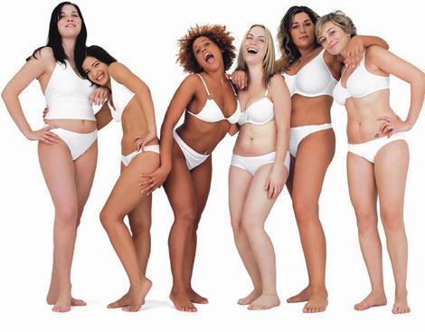 forme del corpo donne