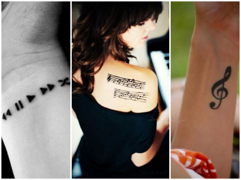 tatuaggi più alla moda musica