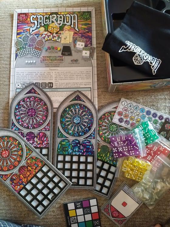 giochi da tavolo  da quarantena - sagrada