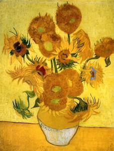 Vincent Van Gogh girasoli