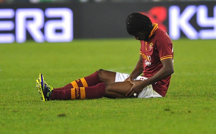 lesione muscolare calcio
