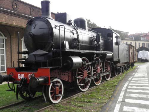 Museo di Pietrarsa treno