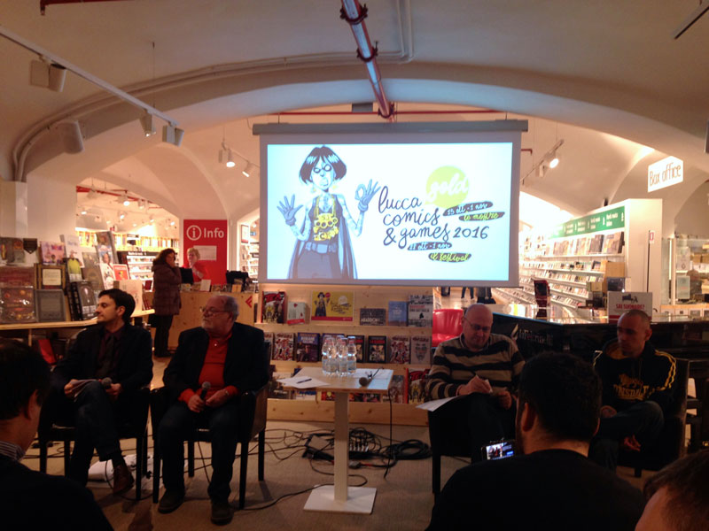Conferenza Stampa di Lucca Comics And Games 2016