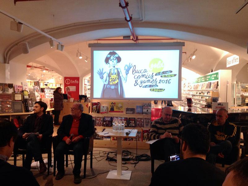 Conferenza Stampa di Lucca Comics And Games 2016