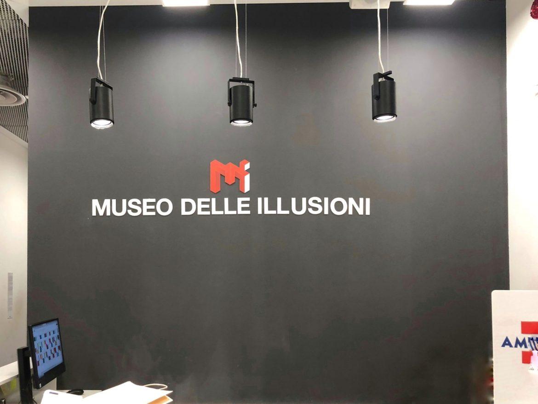 museo delle illusioni milano copertina