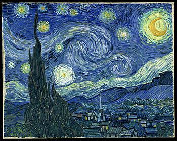 notte stellata Vincent Van Gogh