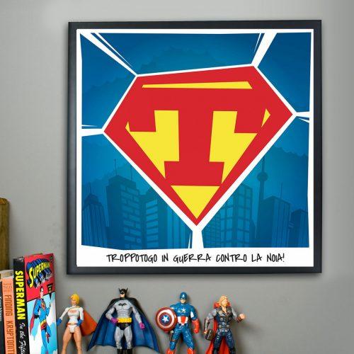 regali personalizzati poster superman
