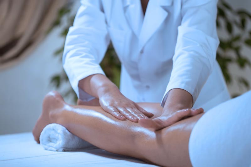 massaggio base sfioramento