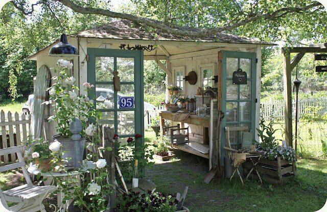 shabby arredo giardino