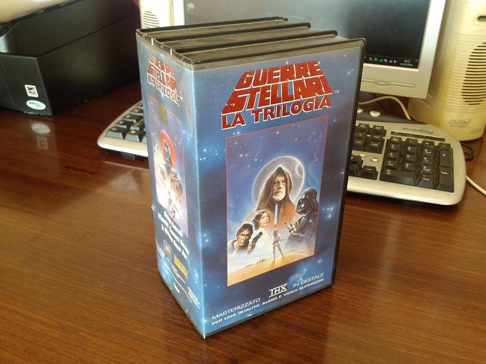 star wars videotape